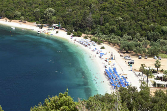 Kefalonia Antisamos TOP 5 BEACHES OF KEFALONIA