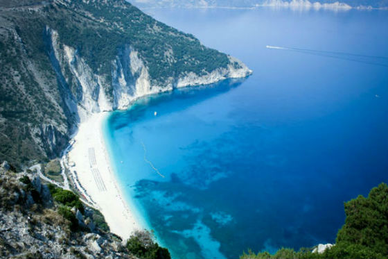 Kefalonia Myrtos2 TOP 5 BEACHES OF KEFALONIA