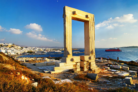 Naxos Portara Alternative Tourism on the island of Naxos!