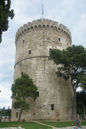 white tower Thessaloniki: Authentically Greek!