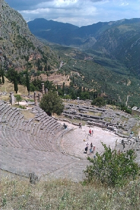 Delphi Ancient Theatre1 A day trip in Central Greece