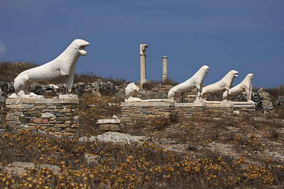 Delos Most visited ancient sites in Greece!