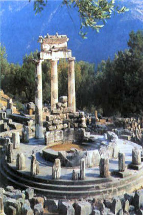 Delphi Most visited ancient sites in Greece!