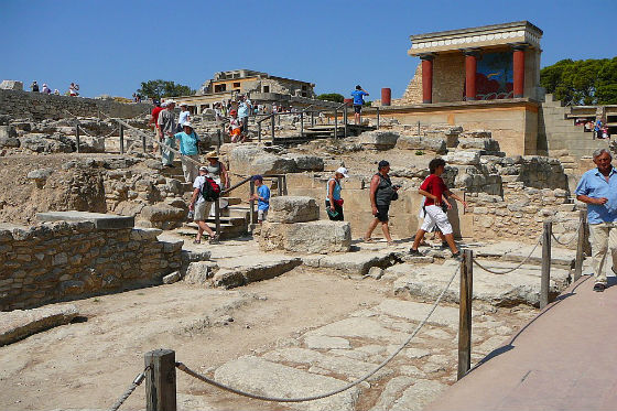 knossos Most visited ancient sites in Greece!
