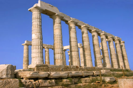 sounion Most visited ancient sites in Greece!