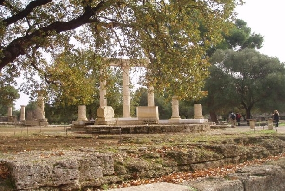 Olympia Fascinating Historic Sites In Greece
