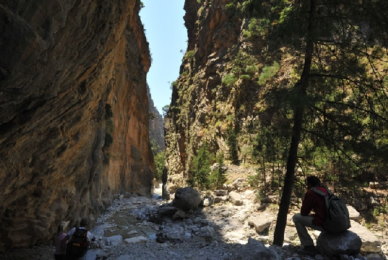 Samaria gorge Must do activities in Crete