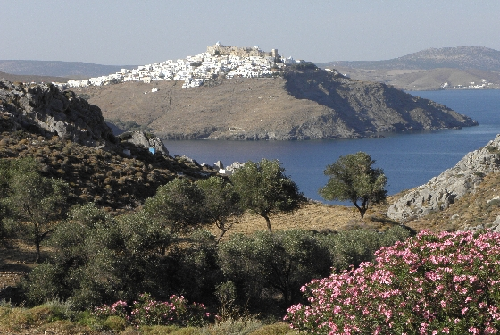 Greece Astypalea Sea Flowers and Chora HHall Why you should visit Greece in 2013