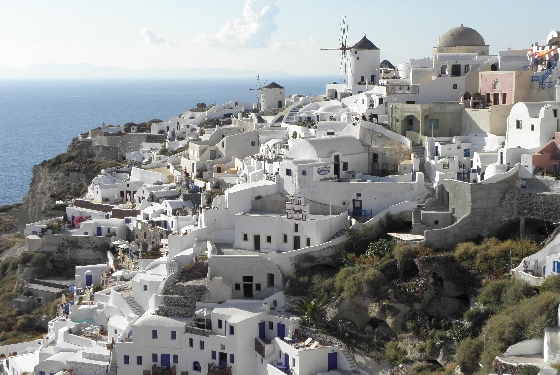 Santorini Oia Windmills HHall Why you should visit Greece in 2013