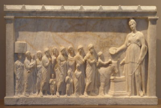 Brauron Aristonike relief Athens Museums – Worth a Voyage