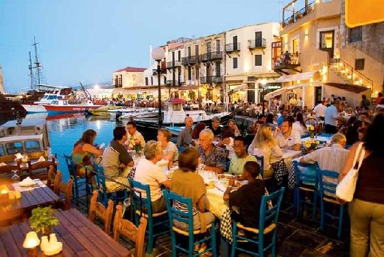 Crete Harbour Chania Top 5 Traditional Greek Islands to visit within the next 5 years