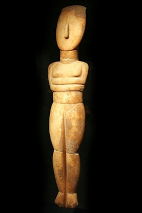 Cycladic Museum Spedos figurine Athens Museums – Worth a Voyage