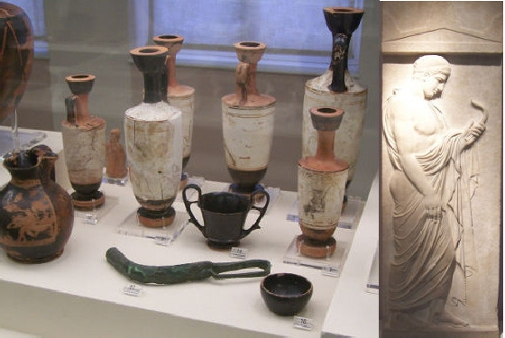 Kerameikos Eupheros grave goods and stele Athens Museums – Worth a Voyage