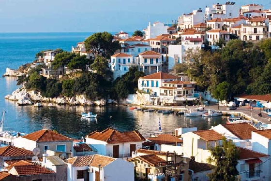 Skiathos 2009 from taverna Top 5 Traditional Greek Islands to visit within the next 5 years