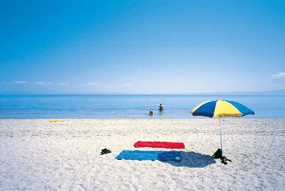 afternoon on the beach in Halkidiki Top 5 Traditional Greek Islands to visit within the next 5 years