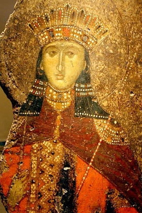 athens byzantine museum st catherine icon image Giovanni DallOrto Wikimedia Commons Athens Museums – Worth a Voyage