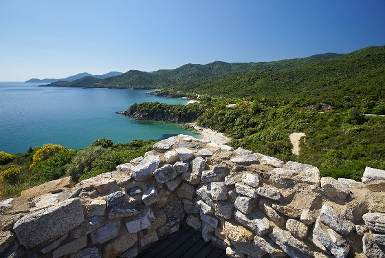 PREFECTURE OF HALKIDIKI  HAL1527 Trekking with historical identity and value!