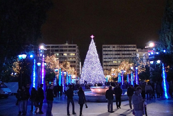 greece athens Christmas in Greece: top 4 destinations