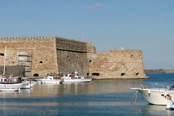crete castle Heraklion, a place to fall in love with