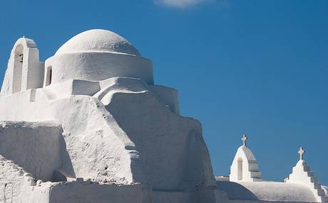 Paraportiani church mykonos Greece Summer Holiday Planner