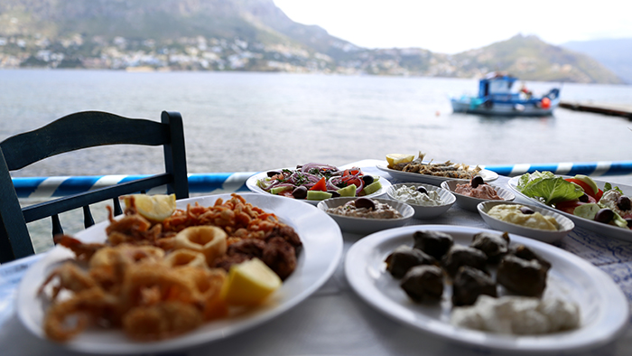 Seafood spread telendos Introduction to Greek Cuisine