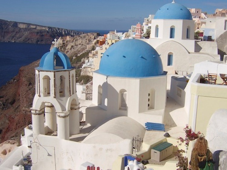 Santorini Becoming the Goddess You Always Wanted to Be