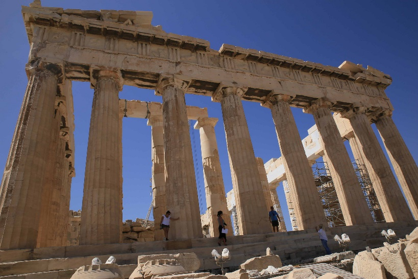 1. Parthenon Top 10 things to do in Greece