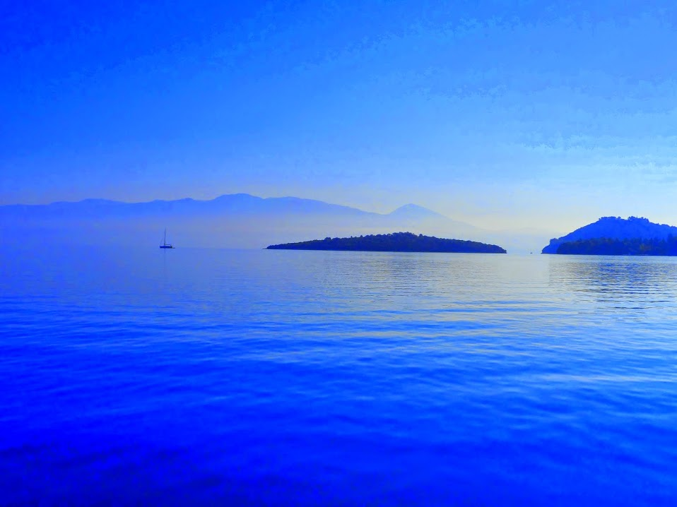 Blissful blue in Ionian IONIAN IDYLL SAILING AMONGST THE GREEK ISLANDS