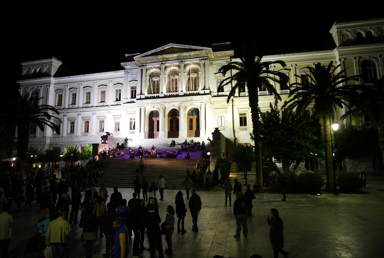 φωτό 1 Hermoupolis, Syros: the Greek Capital of Jazz