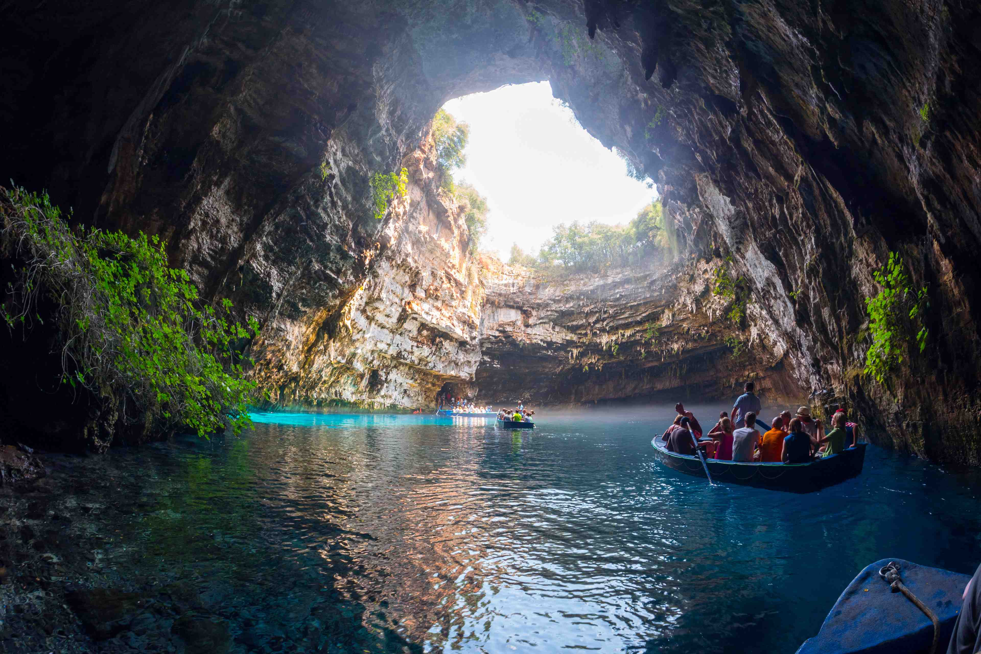 Melissani Cave Top 5 Ionian Island Experiences