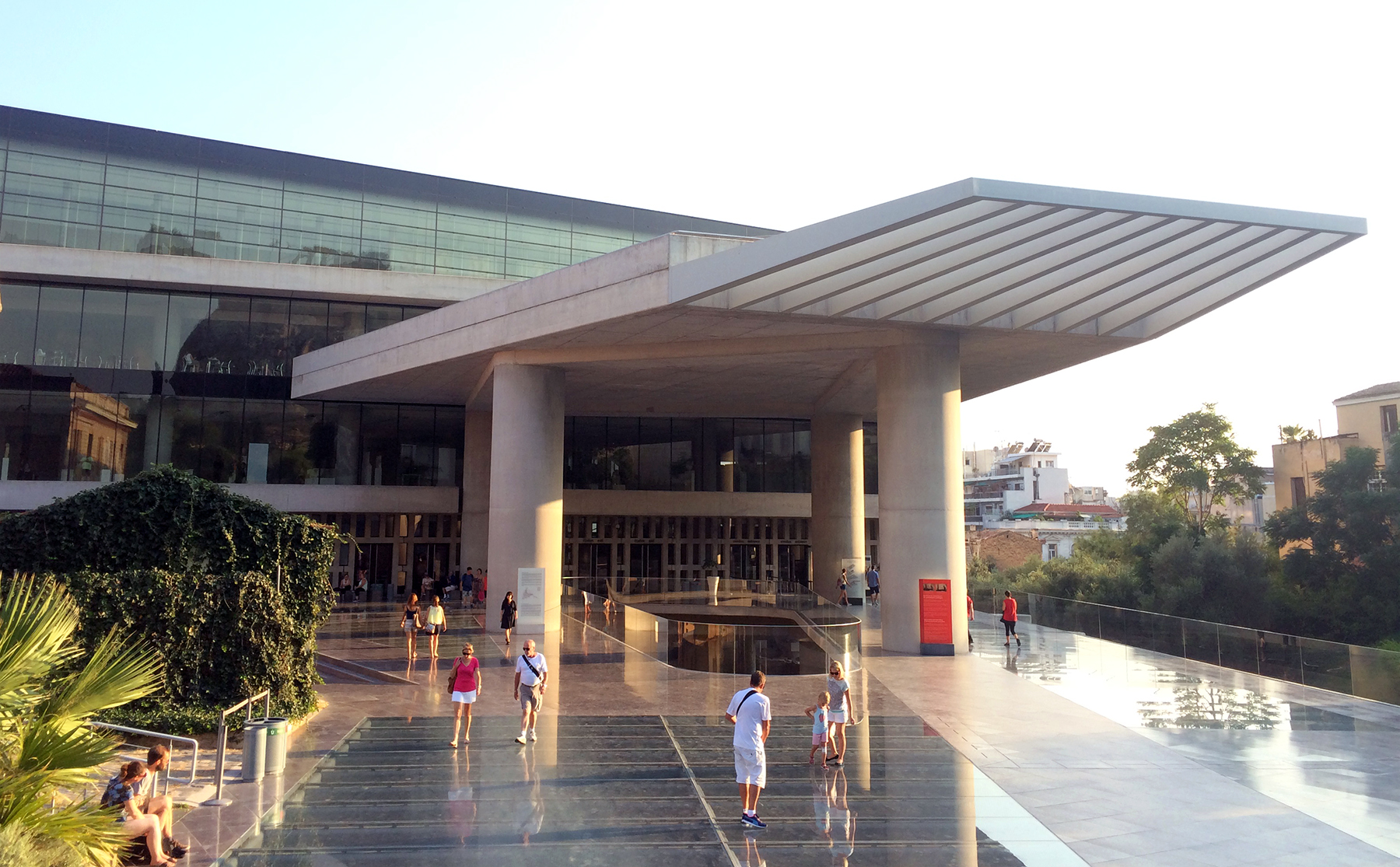 New Acropolis Museum by Bernard Tschumi Architects ...