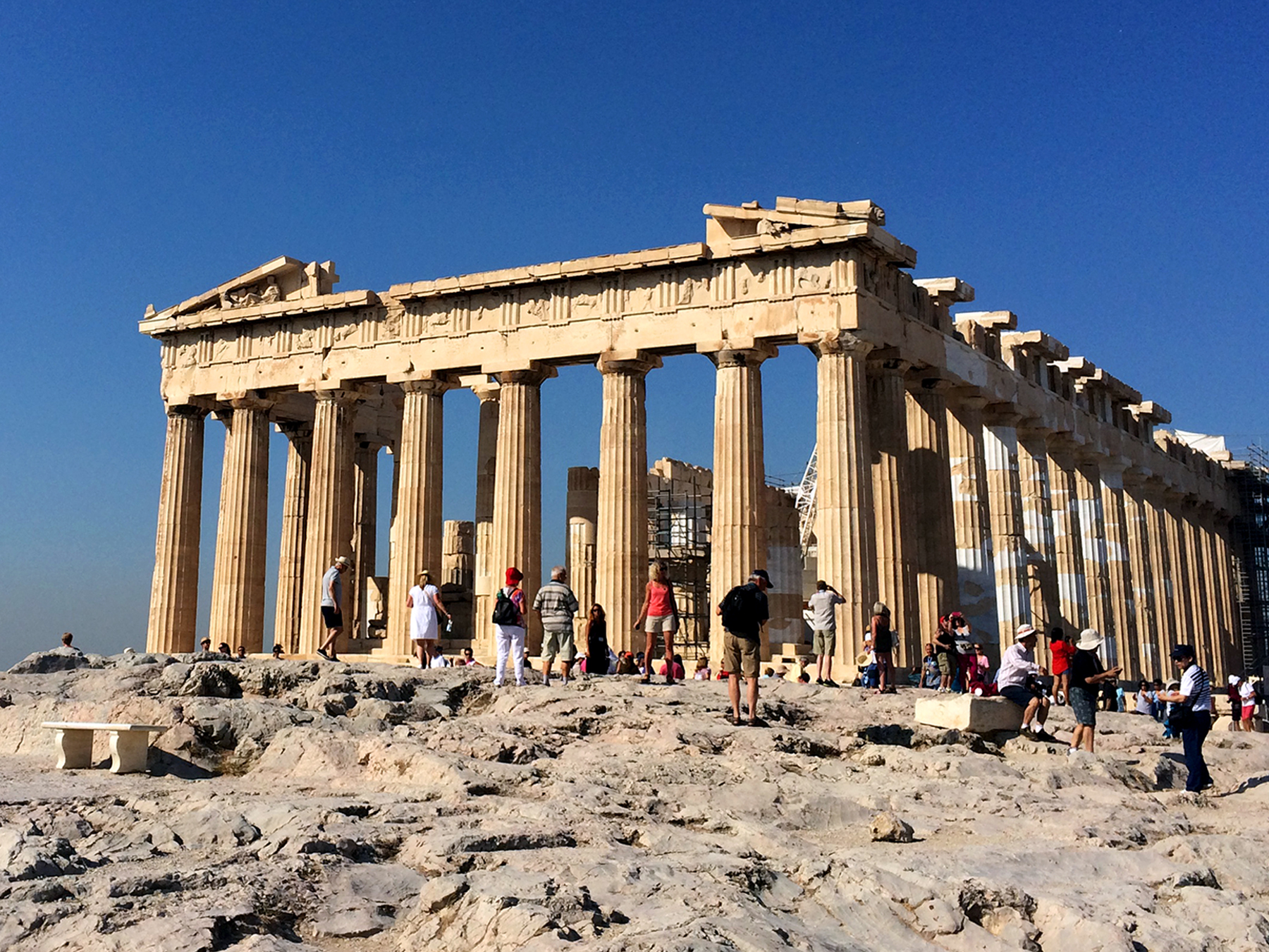 73 Back to Classics at the Acropolis in Athens