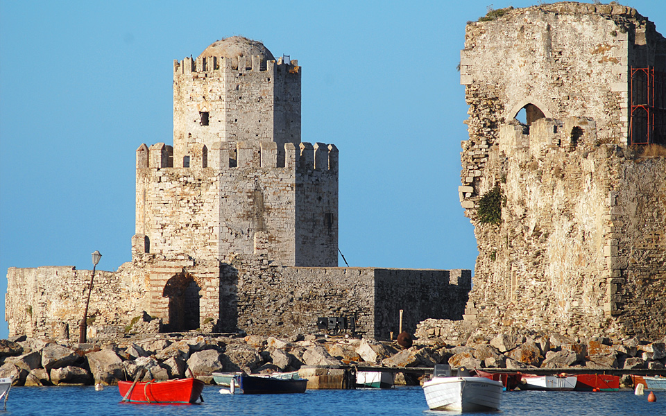 """METHONI.. 2 The """"Game of Thrones"""", Peloponnese style"""