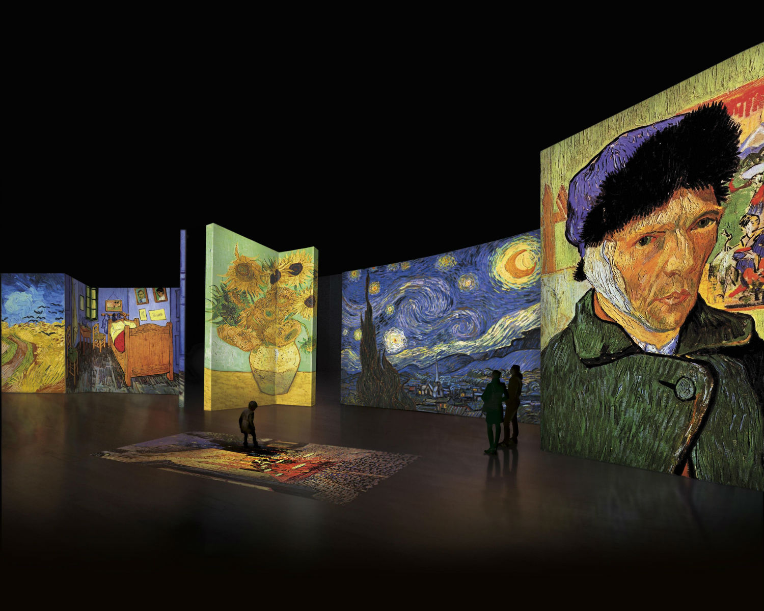 "VanGogh ""Van Gogh Alive – The experience"": The multimedia exhibition that has become a massive hit around the world comes to Athens"