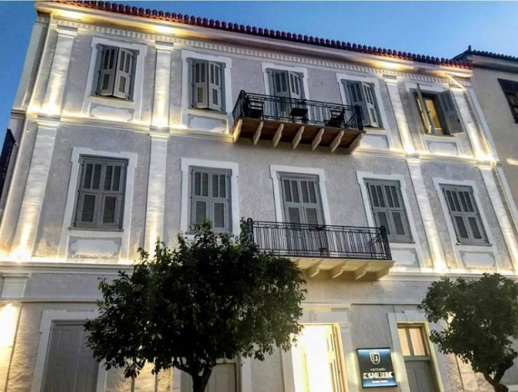 "AntonioGambello The boutique hotel ""Antonio Gambello"" just opened in Nafplio"