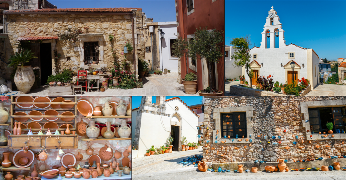 margarites crete collage Crete's hidden gems revealed